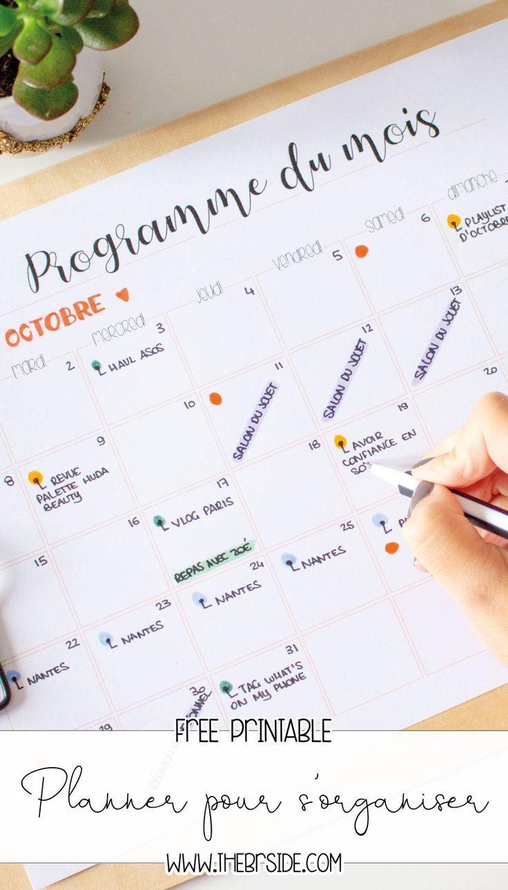 #planners #imprimer #planner #franais #enPlanners à imprimer Planner à imprimer en françaisPlanner à...