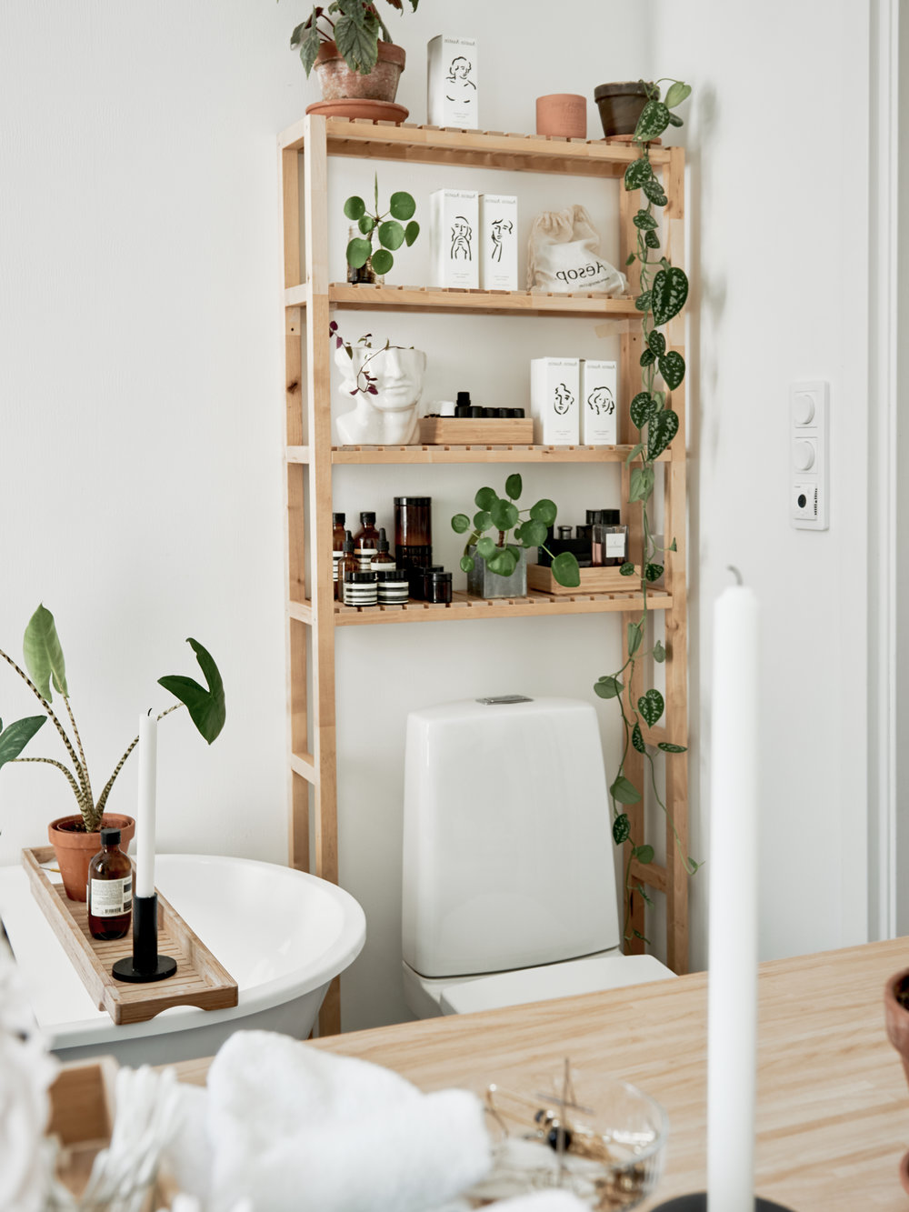 A White Plant-Filled Scandinavian Apartment — THE NORDROOM