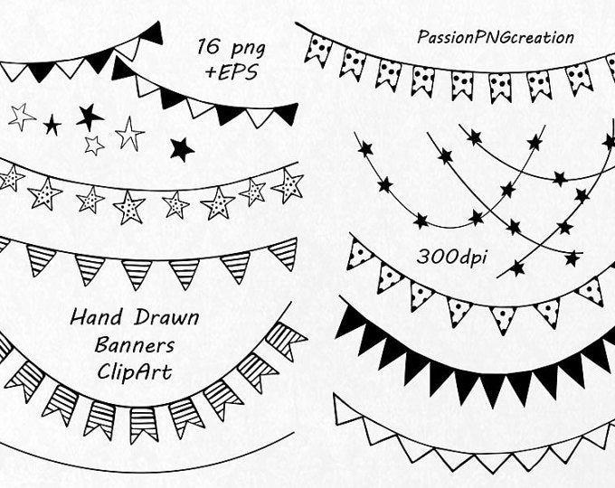 GRAN conjunto de imágenes prediseñadas de verano doodle, imágenes prediseñadas de vacaciones dibujadas a mano, imágenes prediseñadas digitales, png, eps, ai, imágenes prediseñadas de vector, uso personal y comercial