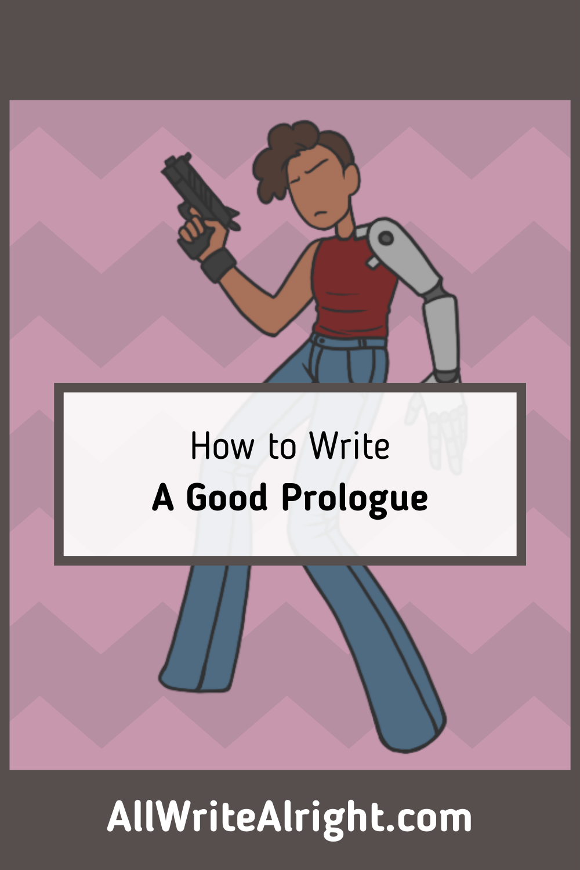 how to write a good prologue  book writing tips novel