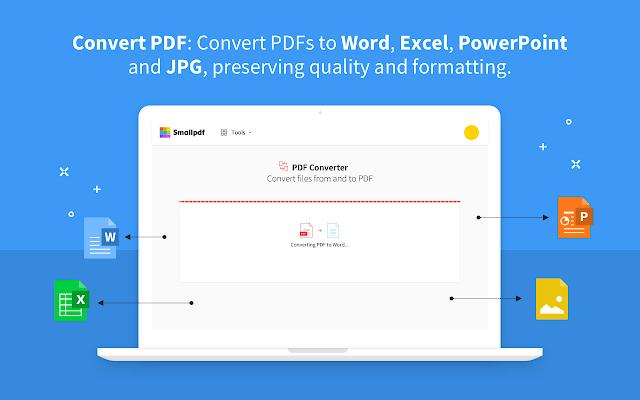 Smallpdf Edit Compress And Convert Pdf Google Workspace Marketplace Google Drive Google