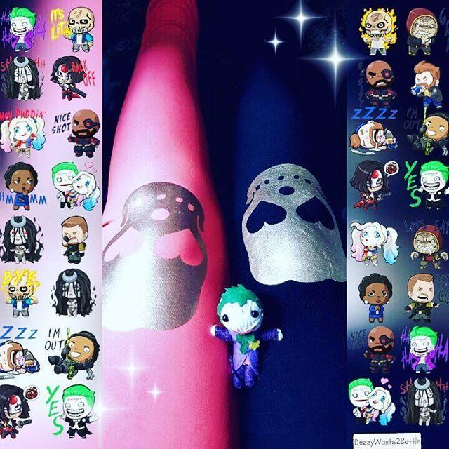 Suicide Squad   #aesthetic #suicidesquad #katana #harleyquinn #joker #deadshot #pyro #dccomics #dc #ootd #leggings #skulls #movies #skwad #eldiablo #enchantress #harleenquinzel #killercroc #boomarang #slipknot #love #comicbook