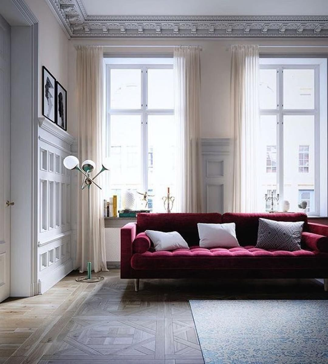 for living interior amazing furniture design red room ideas elegant modern velvet with sofa couch chesterfield