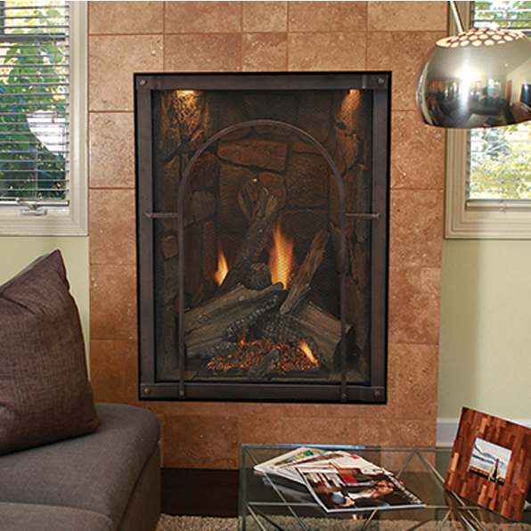 Empire Forest Hills 27 Portrait Style Traditional Direct Vent Gas