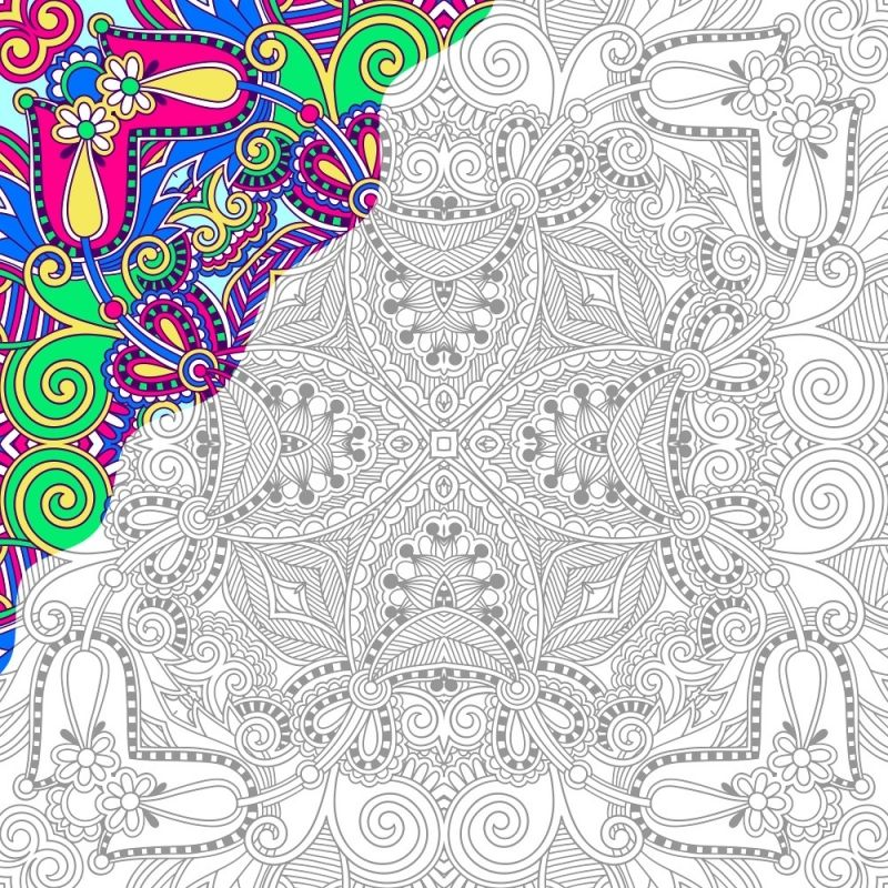 Coloring Pages Free Color Number Printables For Adults Color free ...