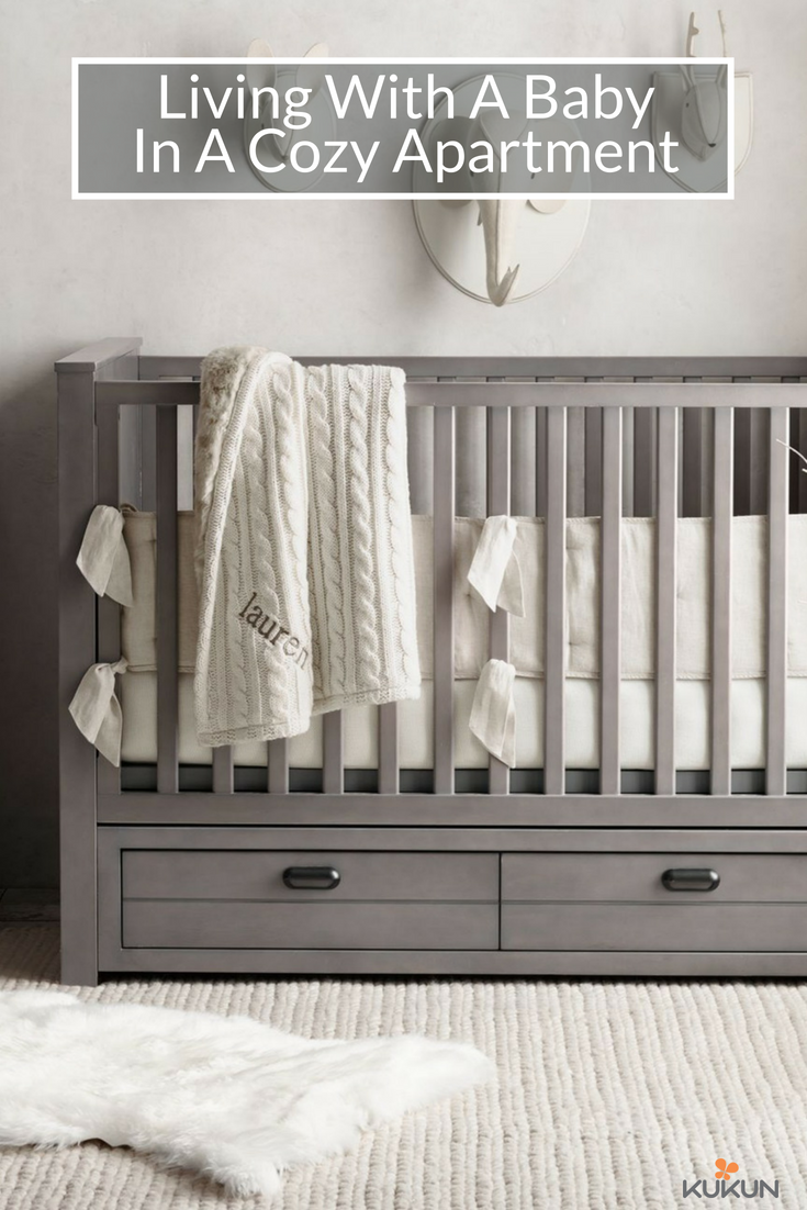 Living With A Baby In One Bedroom Apartment Small Nursery Ideas E Saving Storage Carpet Floors Neutral Color