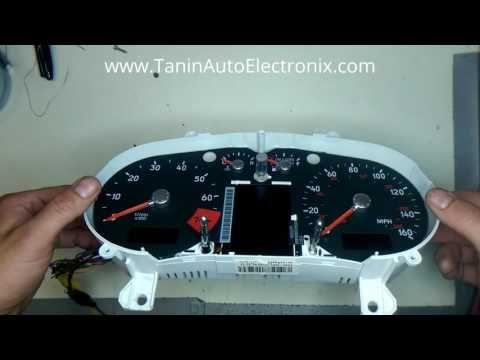 Tanin Auto Electronix Audi TT Speedometer Needle Calibration