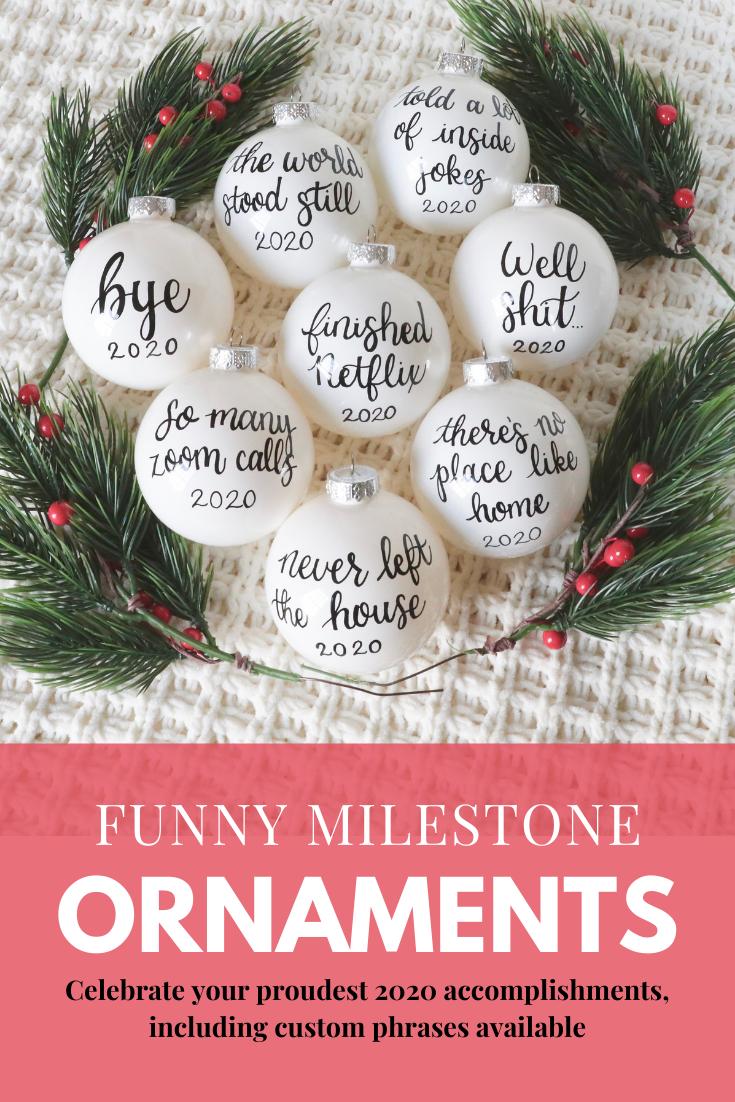 Funny 2020 Christmas Ornament Sarcastic Ornaments Funny Etsy In 2020 Funny Christmas Decorations Christmas Ornaments How To Make Ornaments