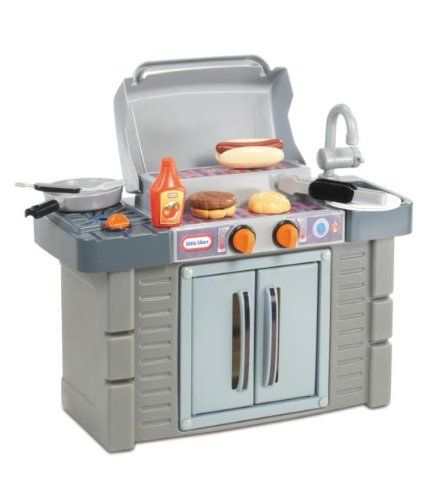 Why Toddlers Love Little Tikes Bbq Kitchen Cook N Kids Pretend Play Kitchen Play Kitchen