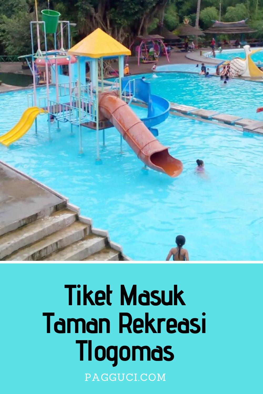 Tiket Masuk Taman Rekreasi Tlogomas Taman Kolam Renang Kolam