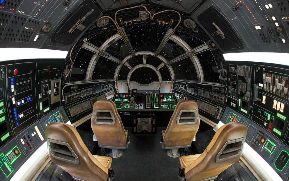 Here S What It S Like To Ride The Millennium Falcon At Star Wars Land Disneyland Star Wars Disney World Hollywood Studios Millennium Falcon