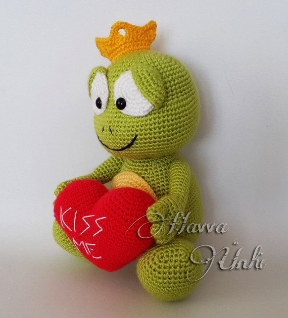 muster prince frog amigurumi h keln von havvadesigns auf etsy h keltiere pinterest fr sche. Black Bedroom Furniture Sets. Home Design Ideas