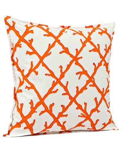 Coral pillow!