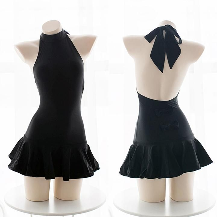 Cute Sexy Bow Swimsuit Dress SE20313 #kawaiiclothes
