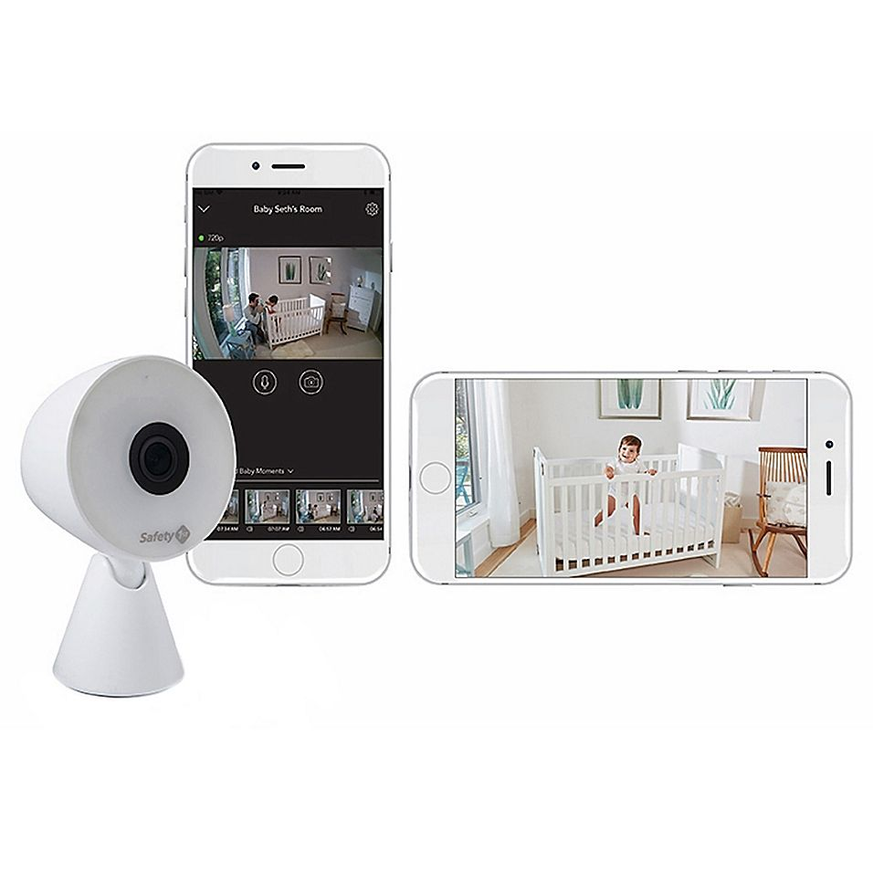 Safety 1st 174 Hd Wifi Baby Monitor In White Wifi Baby
