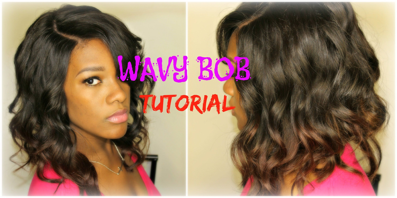 Wavy Bob Tutorial RPGSHOW Hair Pinterest