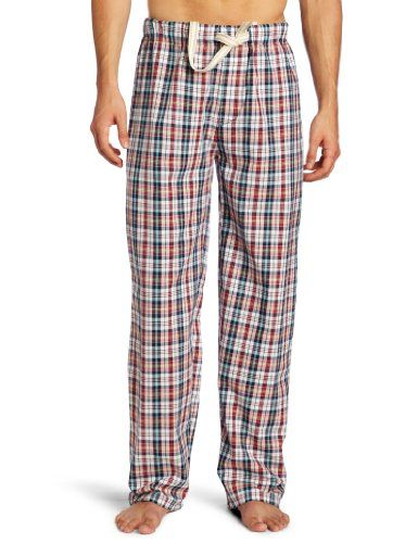 Bottoms Out Men's Urban Woven Plaid Sleep Pant