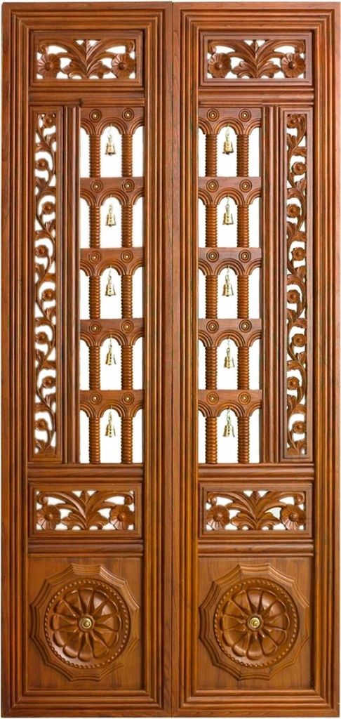 9 Traditional Pooja Room Door Designs In 2020: Pooja Room Door Design Pooja Room Door Designs Pencil