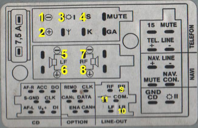 Audi Car Radio Stereo Audio Wiring Diagram Autoradio Connector Wire Installation Schematic Schema Esquema De Conexiones: Audi Radio Wiring Diagram At Shintaries.co