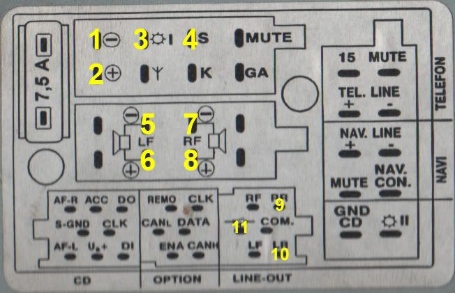 audi car radio stereo audio wiring diagram autoradio connector wire rh pinterest com Factory Car Stereo Wiring Diagrams Factory Car Stereo Wiring Diagrams
