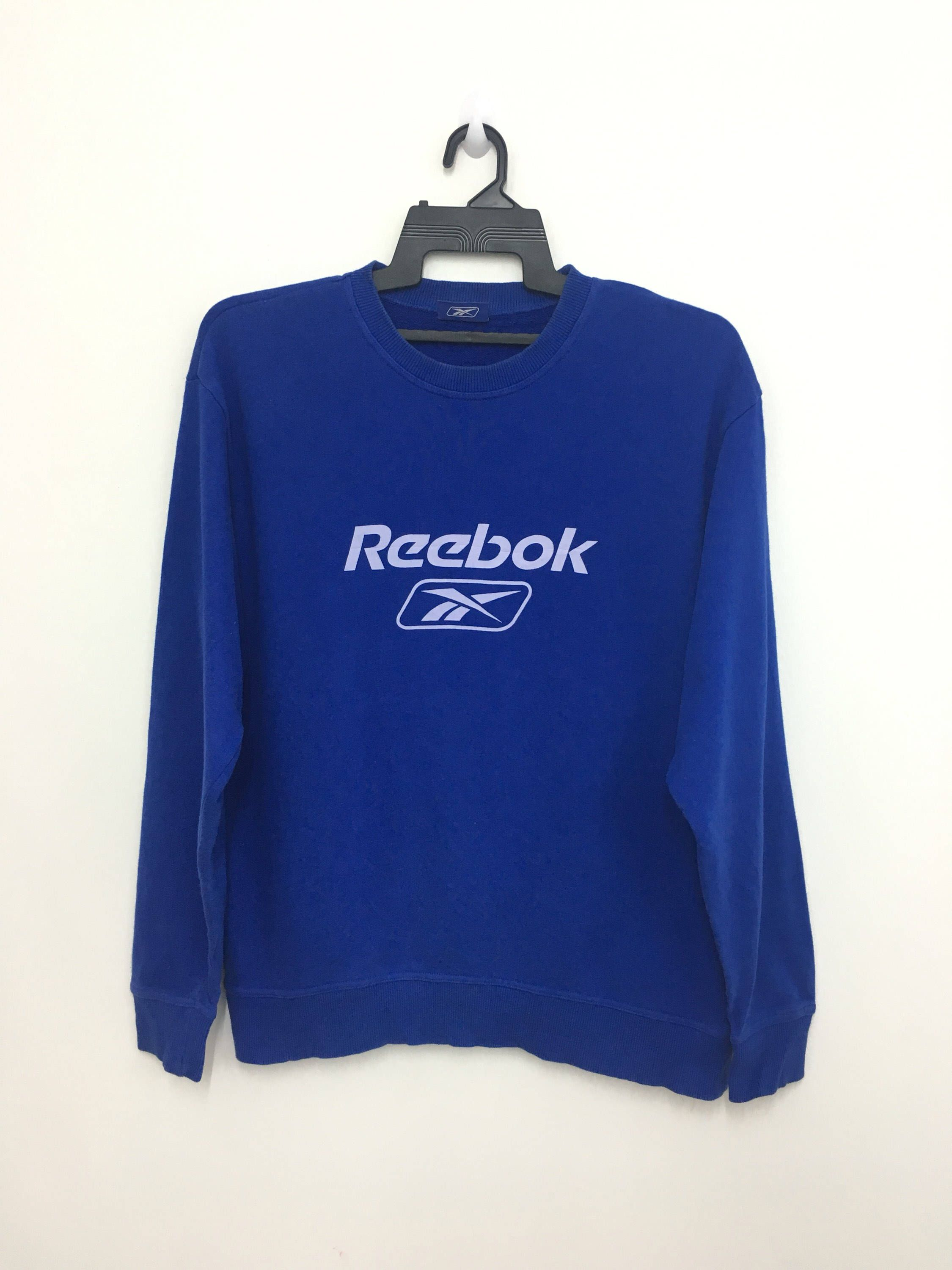 e09f832ab45 Excited to share this item from my #etsy shop: Sale!! Vintage REEBOK  Sweatshirt Big Logo Spellout Jumper Good Condition