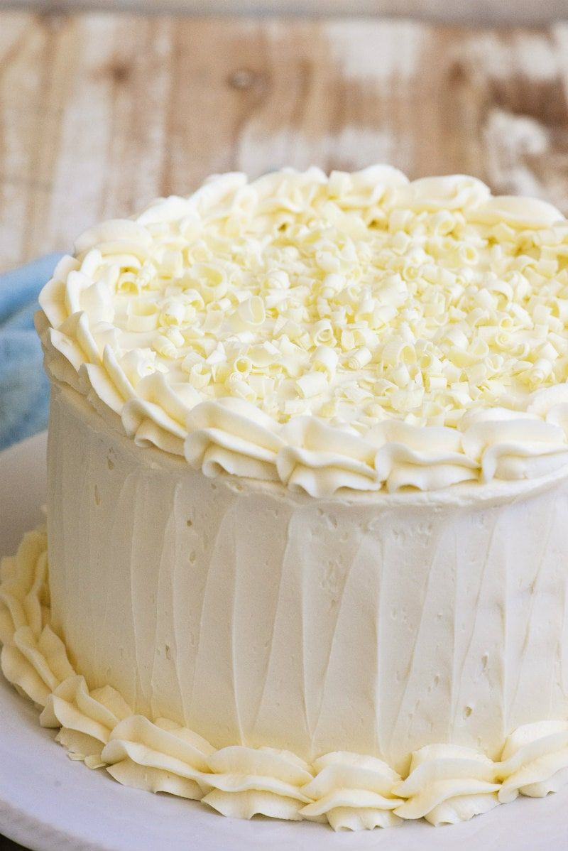 White Wedding Cake Recipe Cake, Cake recipes