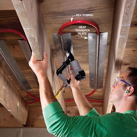 Electric Vs Hydronic Radiant Heat Systems Wood Projects