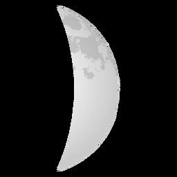 Icono Realista De Luna Creciente In Moon Icon Icon Graphic Design