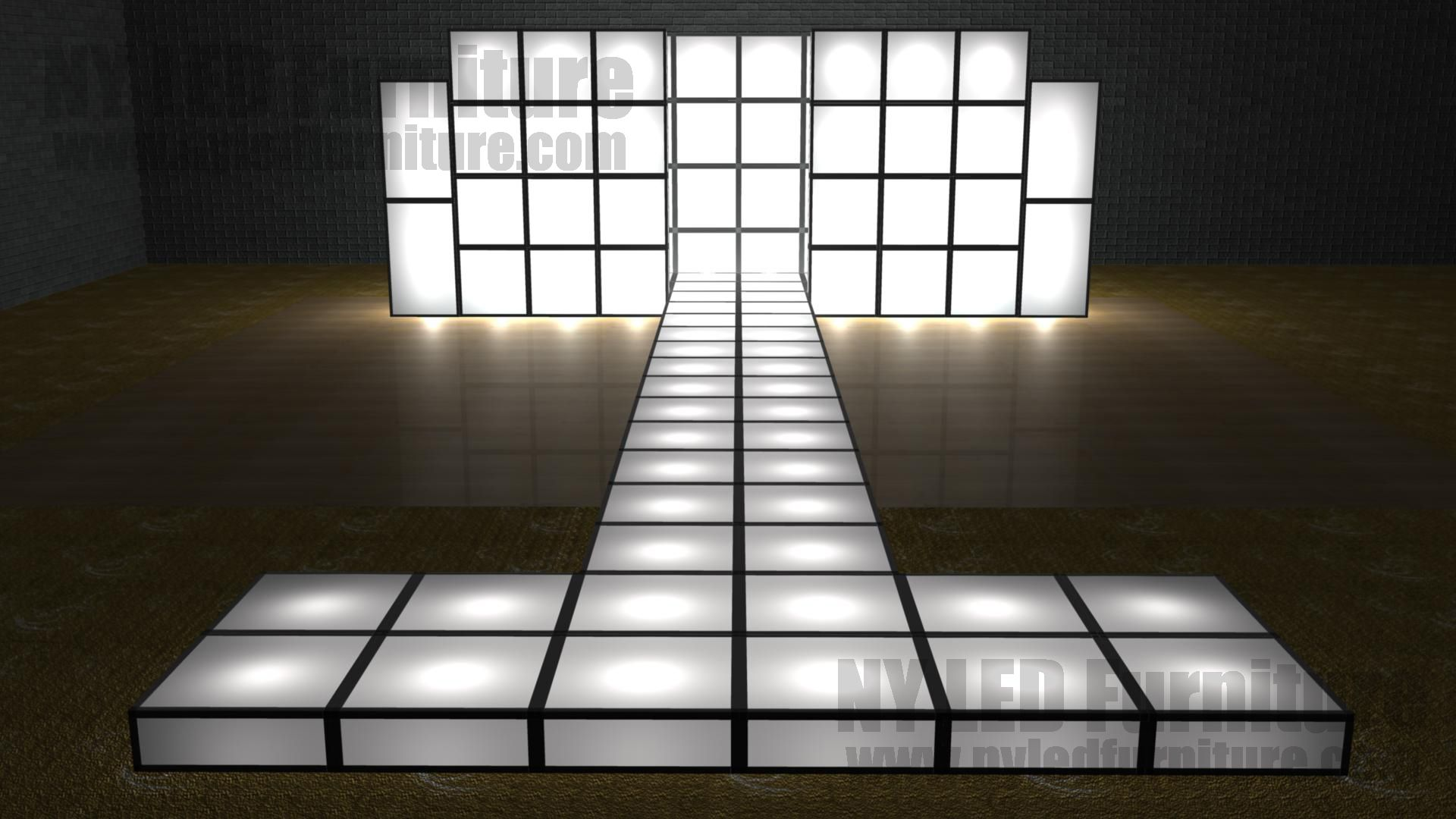 Pin by ny led furniture on light up led runways and for Catwalk flooring