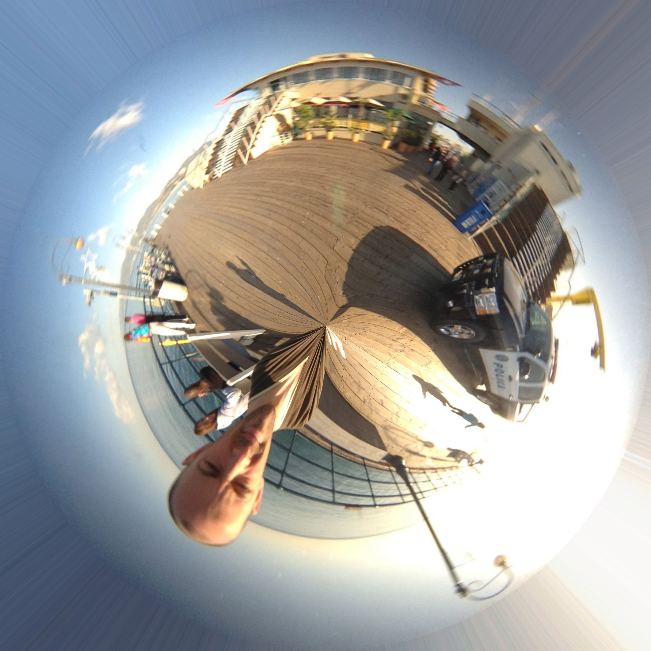 Little Planet from BubbleScope Image
