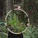 Stitch Round Mirror