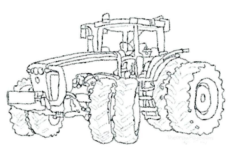 Printable Tractor Coloring Pages For Kids Free Coloring Sheets Kreativ Traktor Bilder