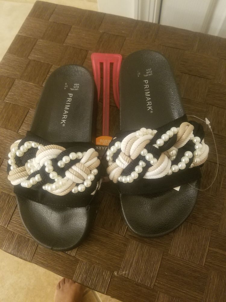 475744e89f1a Primark beaded slides size 6 brand new  fashion  clothing  shoes   accessories  womensshoes  sandals (ebay link)