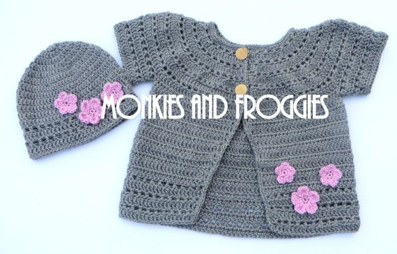 Cute Sweater & Hat  #crochet #musthave