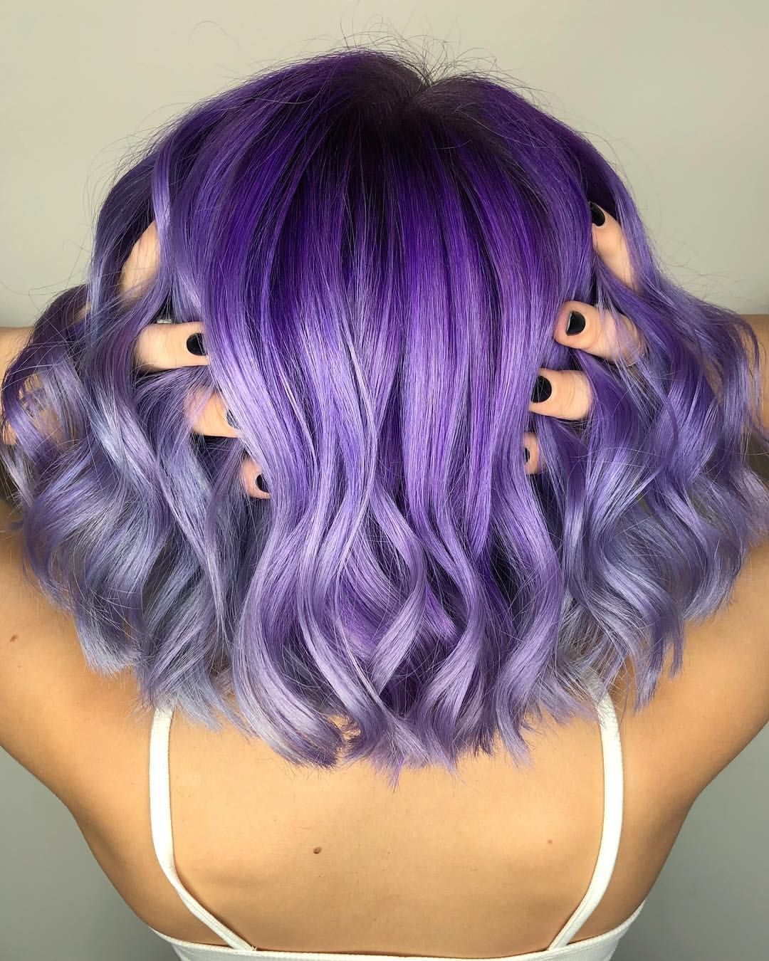 63 Purple Hair Color Ideas To Swoon Over Violet Purple Hair Dye Tips: I Legit Have The Best Clients. Let Me Just Forewarn Anyone