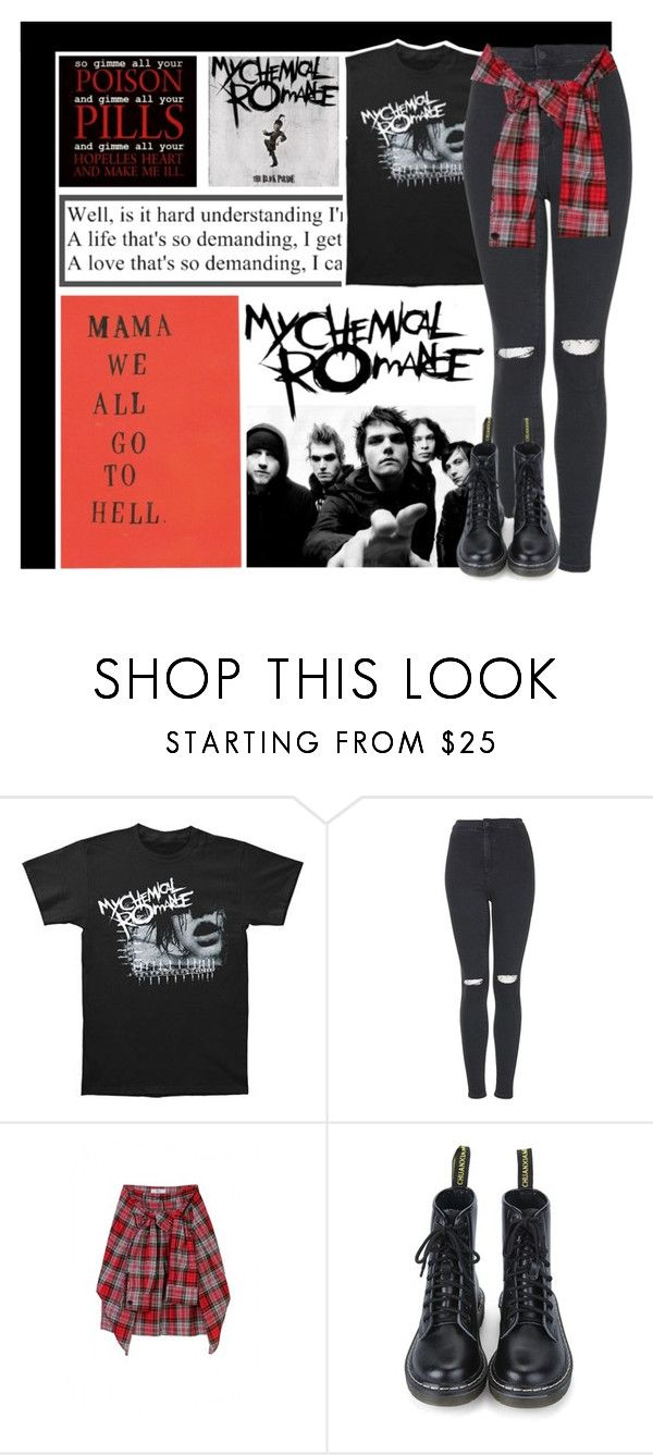 """""""MCR"""" by centurythe ❤ liked on Polyvore featuring Venom and Topshop"""