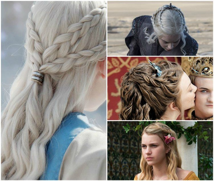 30++ Tresses coiffure game of thrones des idees