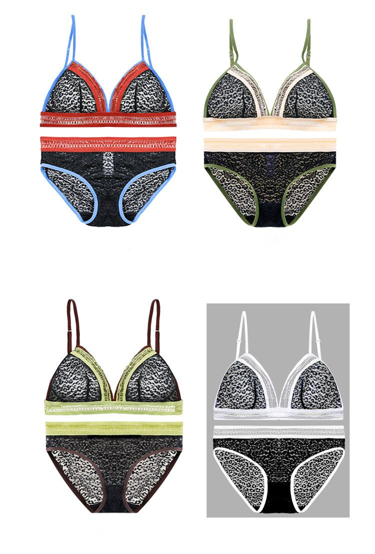 063e71a27f8ab 2018 New Arrival Wireless bra set Ultra-thin Women Bralette women underwear  set bra and panties lace intimates lingerie