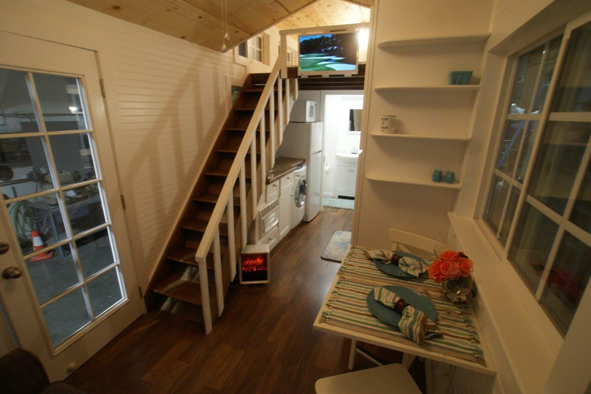 Tiny Cottage On Wheels For Sale In Orange County Tiny Cottage Tiny Houses For Rent Tiny House Plans