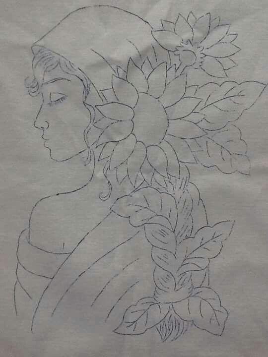 Cony rico cojines pintura textil patrones de bordado - Dibujos para pintar en tela infantiles ...