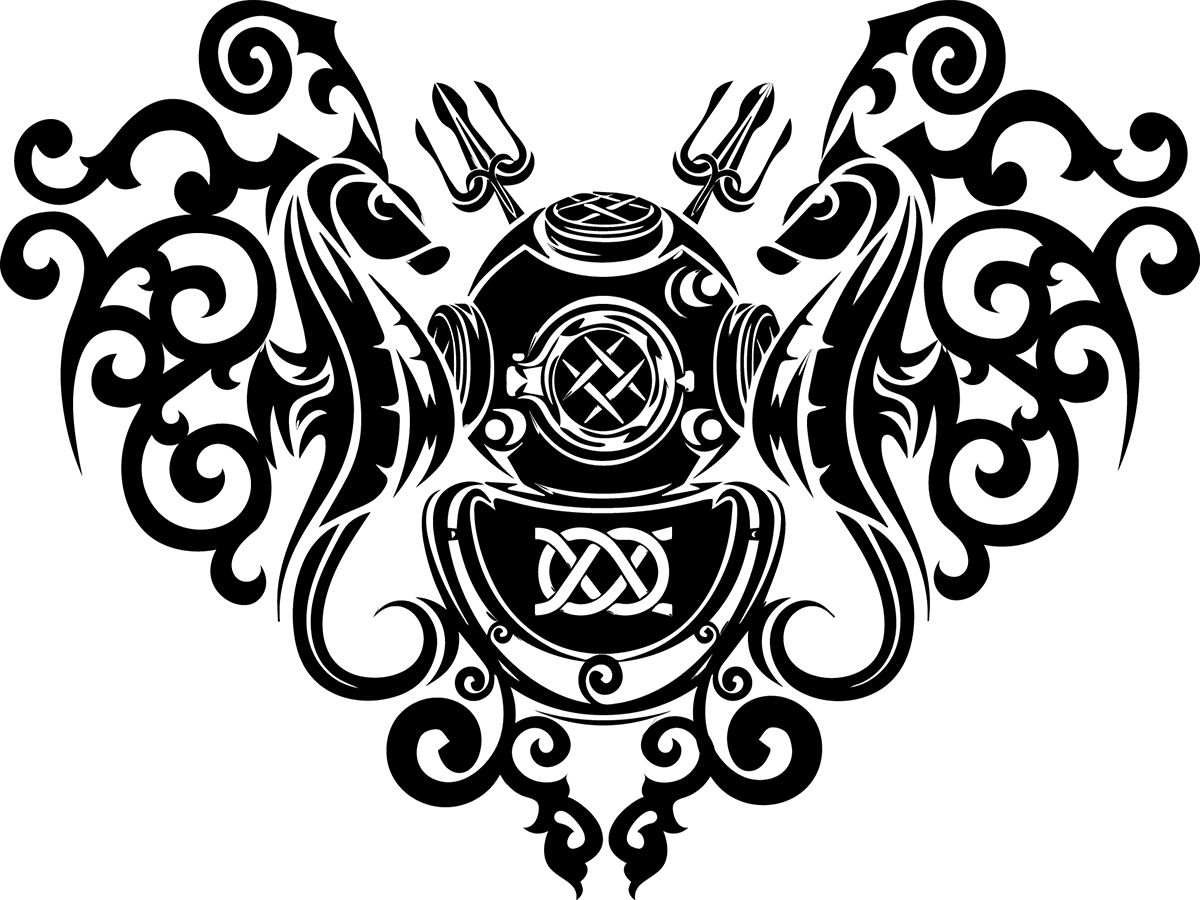 tattoo design for us navy diver 39 s wife adobe illustrator deepsea pinterest tatuaje de. Black Bedroom Furniture Sets. Home Design Ideas
