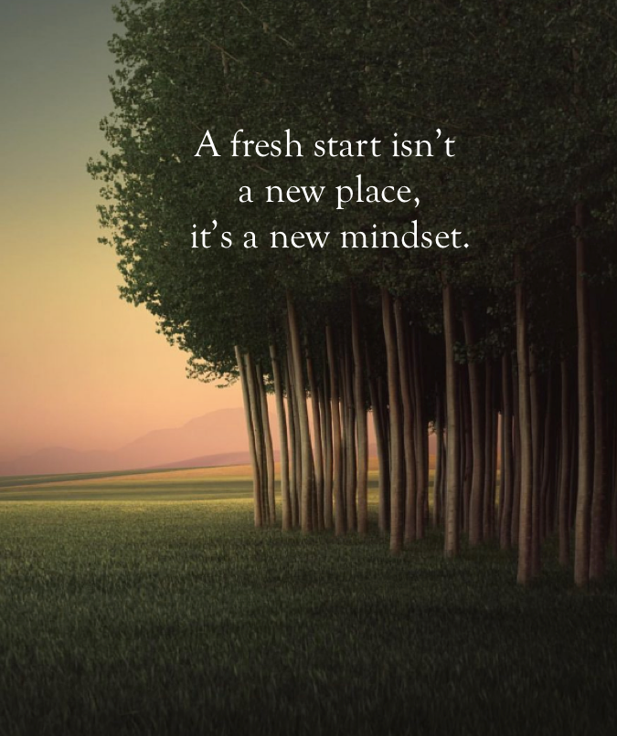 A Fresh Start Isn T New Beginning Quotes Life New Beginning Quotes Moving On Quotes New Beginnings