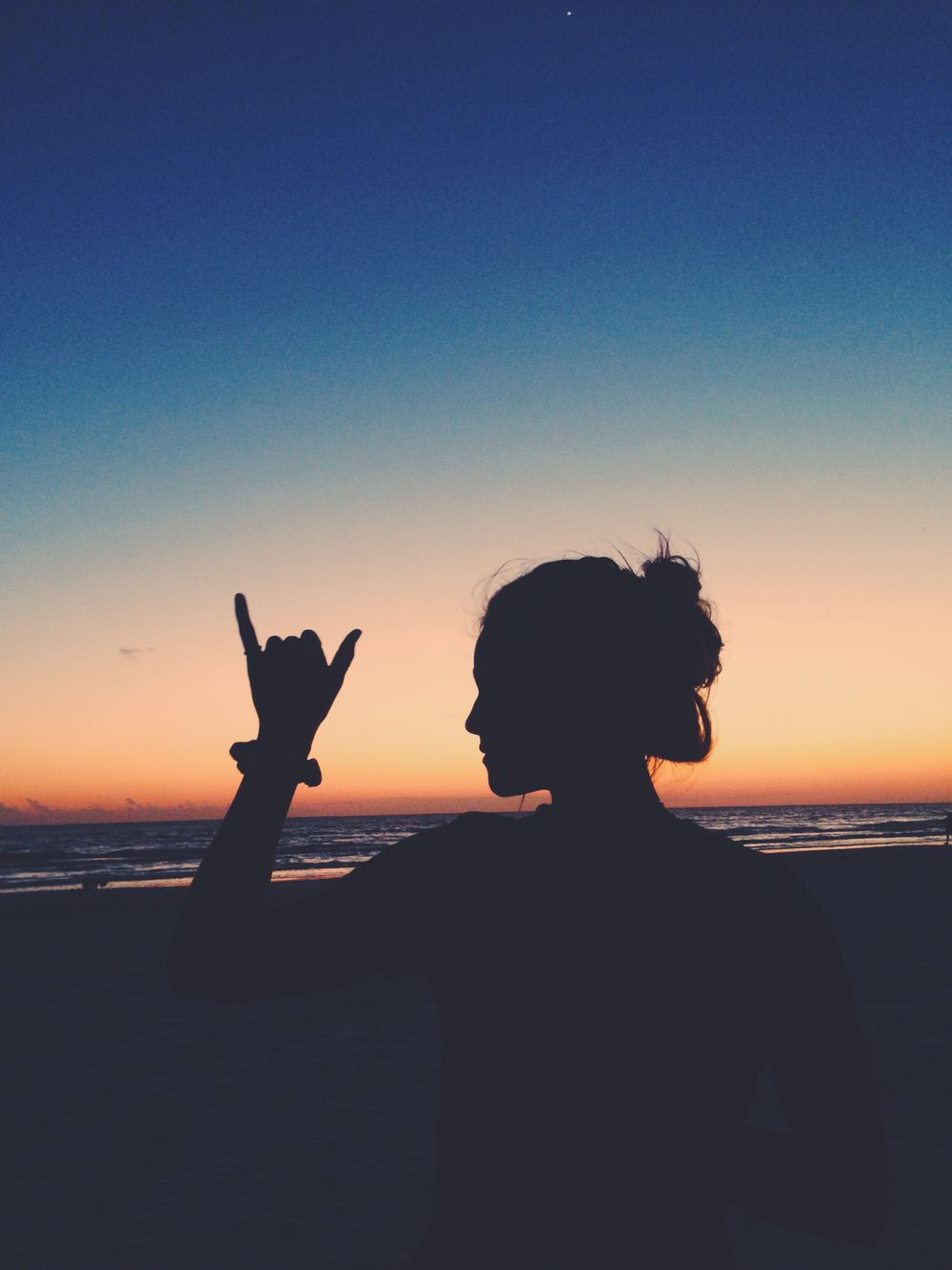 Hang Loose Silhouette Photography Tumblr Photography Shadow Pictures