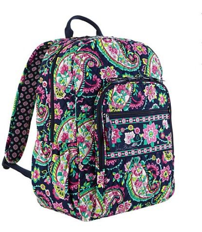 Campus Backpack in Petal Paisley  Vera Bradley d90f0ec026