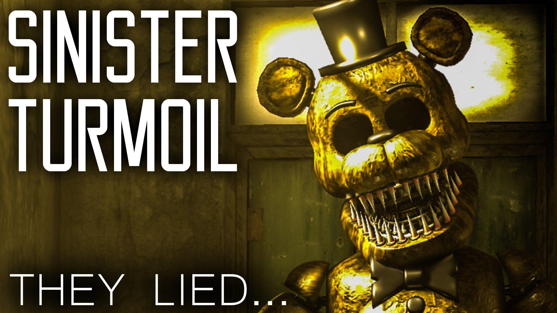 Omg Golden Freddy Fnaf Sinister Freddy
