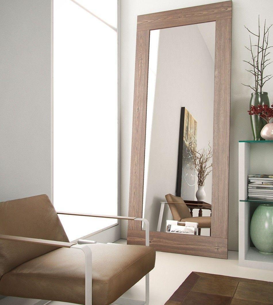 Dawn FullLength Mirror WALNUT Farmhouse decor living