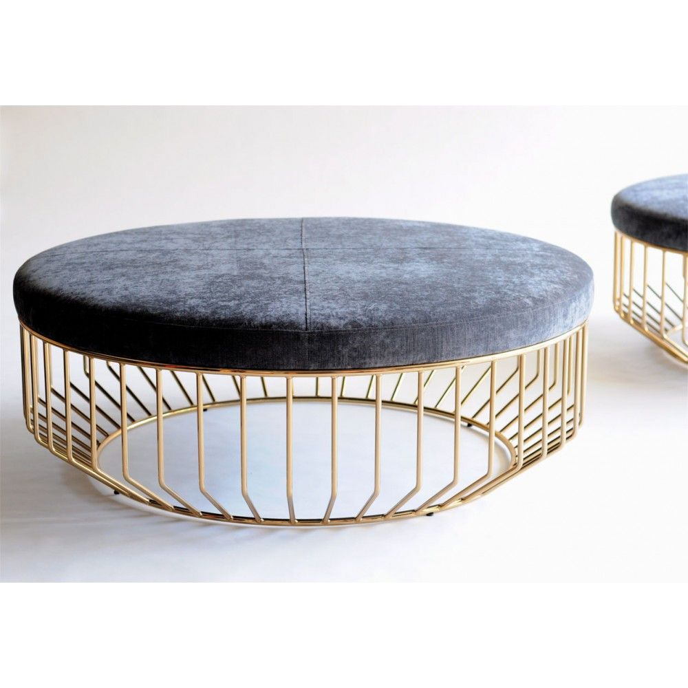 Wired Ottoman Leather Ottoman Coffee Table Ottoman Furniture