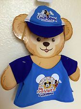 Duffy the Disney Bear Clothes Costume Shirt Hat 1st Trip California Adventure