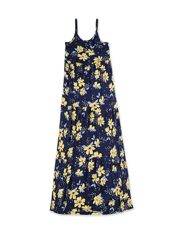 b418852d00ce Vestido Longo Infantil Em Viscose Estampado | Vestidos | Feminino | Hering  Kids