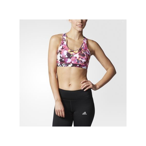 adidas medium support techfit climacool molded cup sports bra